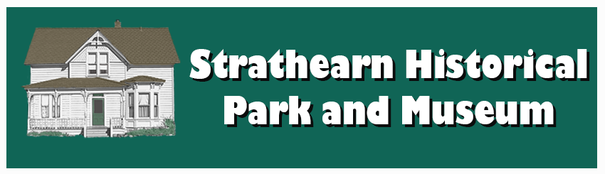 Strathearn Historical Park and Museum Mobile Logo