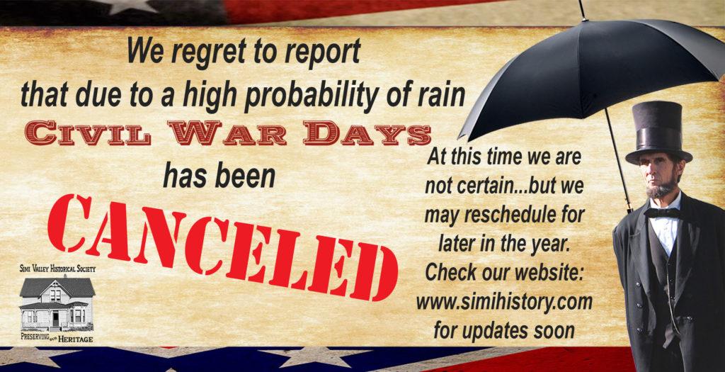 Civil War Days- March 7 & 8, 2020 – Strathearn Historical